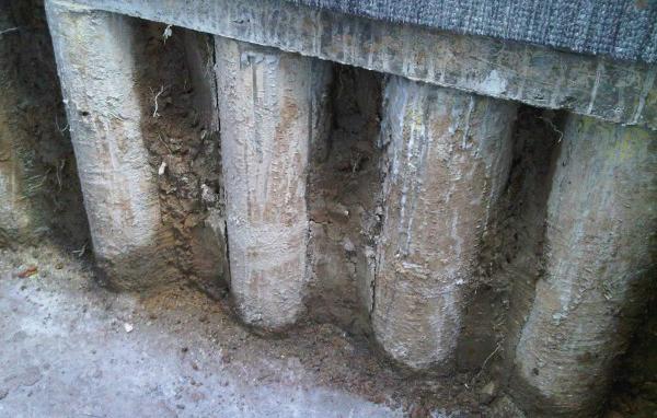 Kellerbau & Spundbohlen Stützmauern