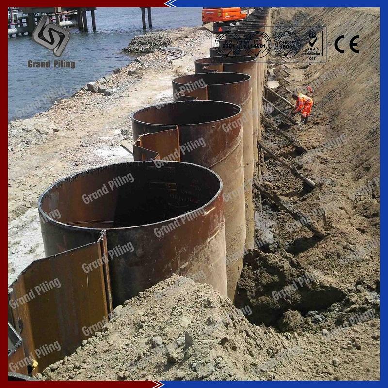 Stahlrohrpfahl Projekte